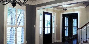 Home remodel entry way.